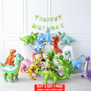 3D Dinosaur foil balloon kids boy birthday celebration home party decoration toy