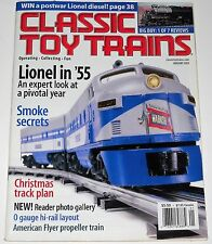Classic Toy Trains Magazine Vol 16 No 1 January 2003 Lionel In '55