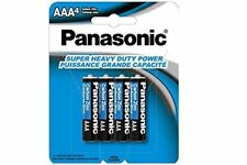 192 x AAA Panasonic Heavy Duty Batteries (48 Cards of 4) (Wholesale/Bulk pack)