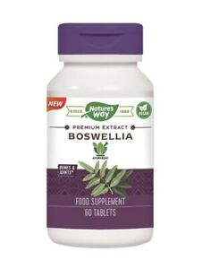Nature's Way Boswellia 60 Tablets Bones And Joints