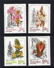 TRANSKEI 1991 PARASITIC PLANTS SG 261-264 MNH.