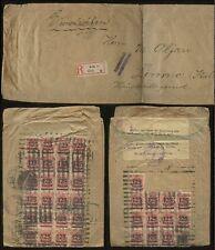 La Germania dell' inflazione registrata 1923 Scti. blocco di grandi dimensioni in Italia