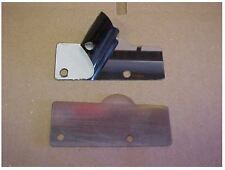 1955 1956 1957 CHEVY NOMAD & WAGON LOWER TAILGATE HINGE COVERS- SS, Pair