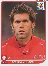 N°591 BENJAMIN HUGGEL # SWITZERLAND STICKER PANINI WORLD CUP SOUTH AFRICA 2010
