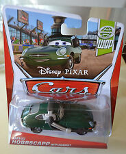 Disney Pixar Cars DAVID HOBBSCAPP WITH HEADSET WORLD GRAND PRIX Series NEW
