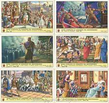 Figurine Lavazza serie n°192 Roma Completa la Conquista dl Mediterraneo ANNO1961