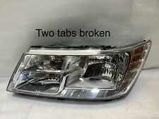 2009 - 2018 Dodge Journey Headlight OEM Left Driver Halogen LH 05116289AC