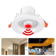 5/7/9/12W PIR Motion Sensor LED Light Recessed Ceiling Downlight Lamp Cool White