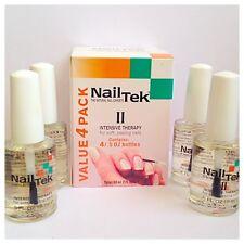 NAIL Tek II intensiva terapia per morbido, spellature chiodi confezione da 4 a buon mercato a basso prezzo!!!