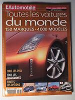 L AUTOMOBILE MAGAZINE HORS SERIE 2001/2002 - TOUTES LES VOITURES DU MONDE *