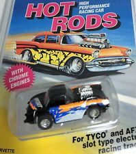 TYCO * AFX* 60 Chevy Corvette Slot Car * New On Card * Hot Rods Series *HO Scale