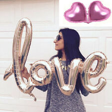 Champagne Love Letters Foil Balloon Birthday Wedding Party Anniversary Decor