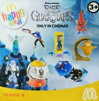 McDonalds Happy Meal Toy 2012 UK Rise Of The Guardian Character Toys - Various