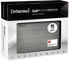 Intenso HDD externe Festplatte Memory Board 3,5 Zoll 5TB USB 3.0 schwarz