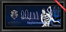 PATRICK DANGERFIELD 2016 AFL BROWNLOW MEDAL GEELONG CATS SIGNED FRAMED PANOGRAPH
