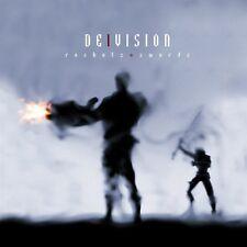DE/VISION Rockets + Swords LIMITED CD Digipack + Bonustracks 2012