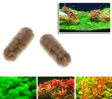 40Pcs Aquarium Aquatic Plant Water Root Fertilizer Condensed Fish Tank Cylinders