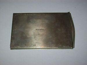 VINTAGE AP PARIS 6X9CM MEDIUM FORMAT METAL FILM PLATE HOLDER MADE IN FRANCE