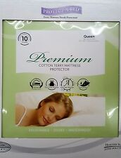 Protect A Bed Premium Waterproof Mattress Protector Bed Cover Queen