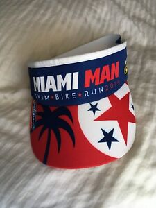 Miamiman 2019 Mack Cycle Headsweats Visor