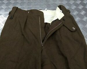 Genuine British Army Pattern No2 Issue Dress Tailored Uniform Trousers W35""