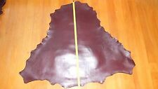 BRANDY BROWN Kangaroo leather VEG TANNED skin hide 850 mm x 850 mm lace chap bag