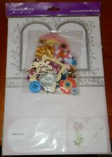 HUNKYDORY I love you card making paper craft set and toppers