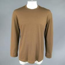 Vintage COMME des GARCONS Size L Light Brown Soft Wool Crewneck Pullover