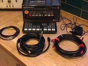 Blackmagic Design ATEM Mini Pro HDMI Streaming Bundle