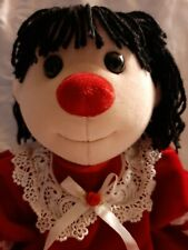 New ListingMeet Holiday Molly. Big Comfy Couch Molly all dressed up in her red dress. Rare