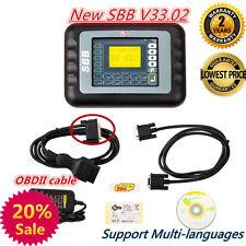 HOT SBB V33.02 Car Key Maker Remote Programmer Immobilizer Multi Language Set D