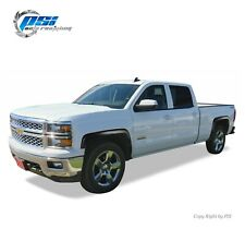 OE Style Paintable Fender Flares Fits Silverado 1500 14-18 2500HD 3500HD 15-19
