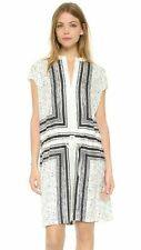 Vince Scarf Print Popover Womens Silk Dress Sz XS SPR $425