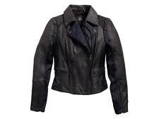 Harley Davidson Femmes Cuir/Veste en jean, Noir-Small - 97157-16VW