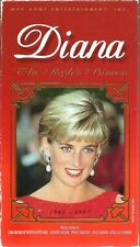 Diana: The People's Princess VHS 1997 Wales Biography Westminster Abbey Vintage