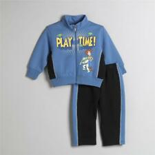 NEW Boy DISNEY TOY STORY BUZZ  WOODY ZIP TOP SWEATSUIT & SWEAT PANT Outfit 24M