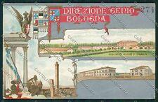 Bologna città Militari cartolina QQ9139