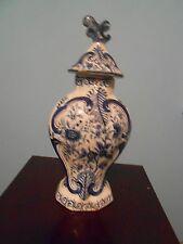 Antique Oriental Blue & White Ginger Jar