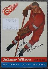 1954-55 NEW YORK RANGERS - JOHNNY WILSON - #4 - First Year Topps TCG - NCC