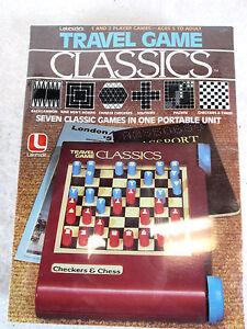 Vintage 1981 Lakeside Travel Game Classics no. 8355 by Leisure Dymanics NIB