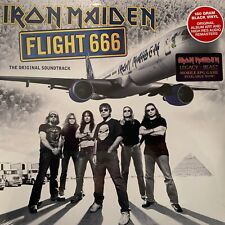 Iron Maiden  - Flight 666(180g Vinyl 2LP),2017 Sanctuary Records
