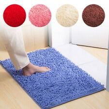 New Bath Mat Non Slip Soft Absorbent Bathroom Shower Rug Carpet Machine Washable