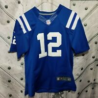 NIKE Indianapolis Colts Andrew Luck Youth Boys Size Large XL Jersey NFL Sewn 12