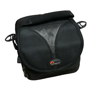 Lowepro Rezo 110AW Camera Bag Carrying Case w/ Rain Cover Missing Shoulder Strap