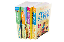 Enid Blyton The Secret Seven 4 Book Collection: 12 Stories, 3 in 1 Books, Advent