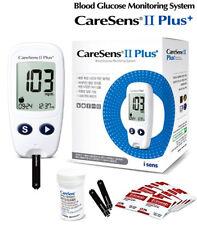 CareSens2 Plus Diabetic Blood Glucose Monitoring System Kit Meter Full Sets