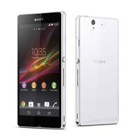 """New Original Unlocked Sony Xperia Z C6603 / L36h 5.0"""" 16GB LTE Smartphone White"""