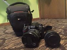 Lightly Used Nikon D7000 DSLR - Lenses - Bag - Bundle- Shutter Count 11K - FS