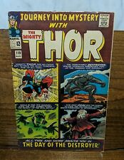JOURNEY INTO MYSTERY 119,120 (1965) Lee Kirby THOR Loki Destroyer Absorbing Man