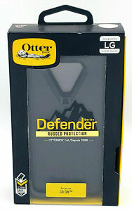 Genuine OtterBox Defender Phone Case for LG G6 WITH HOLSTER - BLACK